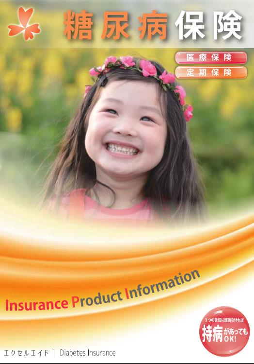 糖尿病保険パンフレット